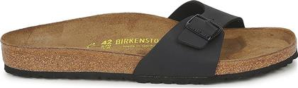 Birkenstock Madrid Birko-Flor 0040791 Regular Fit Black από το Spartoo