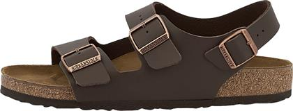 Birkenstock Milano Birko-Flor 0034701 Regular Fit Dark Brown από το Altershops