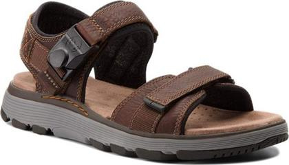 Clarks Un Trek Part 26131860 Brown από το Spartoo