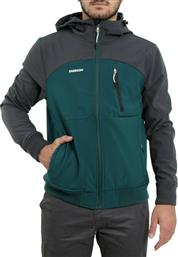 Emerson Soft Shell Ribbed 192.EM11.127 Forest Green / Grey από το Altershops
