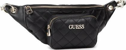 Guess Illy Mini HWVG7970800 Black από το Notos